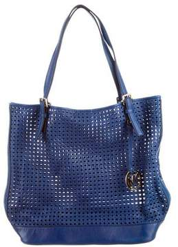MICHAEL Michael Kors Woven Leather Tote
