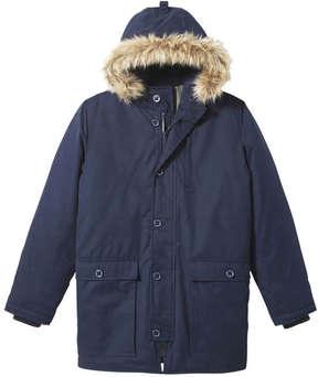 Joe Fresh Men's Hooded Parka, JF Midnight Blue (Size S)