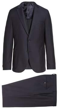 BOSS Men's Novan/ben Classic Fit Solid Wool Suit