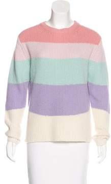 Chinti and Parker Wool Rib Knit Sweater
