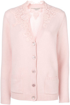 Ermanno Scervino lace collar cardigan