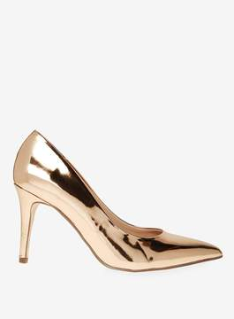 Dorothy Perkins Rose Gold Electra Court Shoes