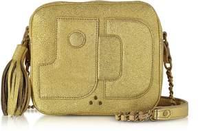 Jerome Dreyfuss Golden Leather Pascal Shoulder Bag