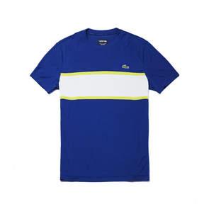 Lacoste Men's Sport Run-resistant Colorblock Tennis Polo