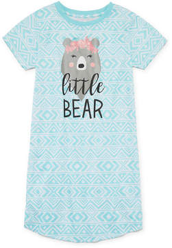 Asstd National Brand Short Sleeve Nightshirt-Big Kid Girls
