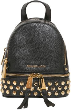 MICHAEL Michael Kors Rhea Mini Studded Backpack - NERO - STYLE