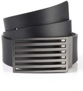 Calvin Klein Mens Faux Leather Reversible Casual Belt