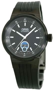 Oris Williams F1 Team Day-Date Stainless Steel Black PVD Watch
