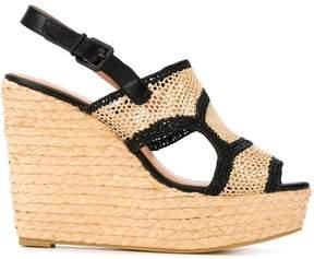 Robert Clergerie 'Drastic' wedge sandals
