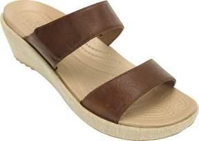 Crocs A-leigh 2-strap Mini Wedge Sandal (Women's)