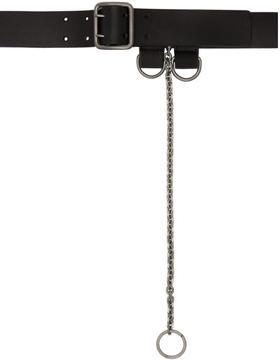 Maison Margiela Black Chain Belt