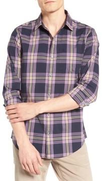 Original Penguin Men's Heritage Slim Fit Plaid Woven Shirt