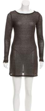 Ellen Tracy Woven Mini Dress