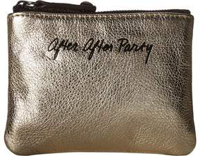 Rebecca Minkoff Betty Pouch-After After Party Wallet Handbags - LIGHT GOLD - STYLE