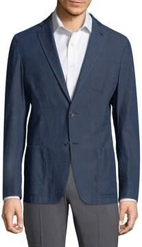 Corneliani Men's Denim Blazer