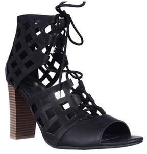 G by Guess Womens Iniko Open Toe Casual Strappy Sandals.