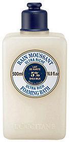 L'Occitane Shea Foaming Cream Bath, 16.9oz.