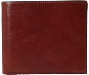 Bosca Old Leather Collection - Eight-Pocket Deluxe Executive Wallet w/ Passcase Wallet Handbags