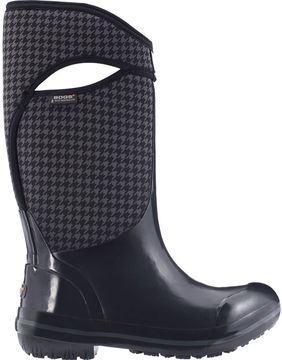Bogs Plimsoll Houndstooth Tall Boot