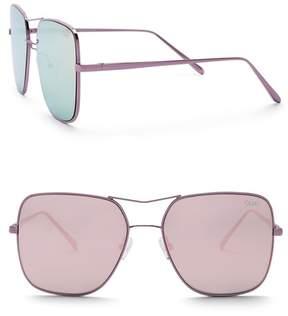 Quay Women's Stop & Stare 56mm Navigator Sunglasses