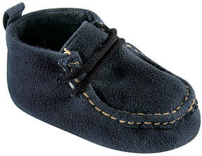 Luvable Friends Navy Moccasin - Boys