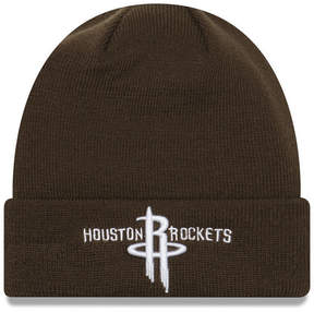 New Era Houston Rockets Fall Time Cuff Knit Hat