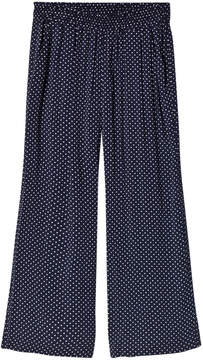 Little Remix Navy White Dot Trousers