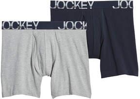 Jockey 2-pk. Men's Active Stretch Midways - Big