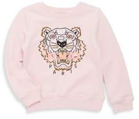 Kenzo Toddler's Embroidered Cotton Sweatshirt