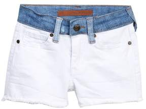 Joe's Jeans Mid Rise Stretch Denim Shorts (Little Girls)