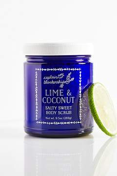 Captain Blankenship Lime & Coconut Body Scrub by at Free People