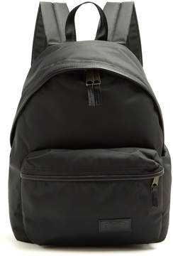 Eastpak Padded Pak'r® Constructed leather-trim backpack