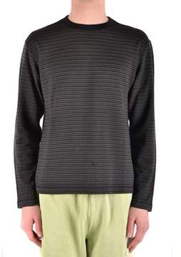 Armani Jeans Men's Black Silk Sweater.