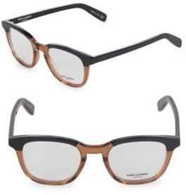 Saint Laurent 49MM Square Optical Glasses