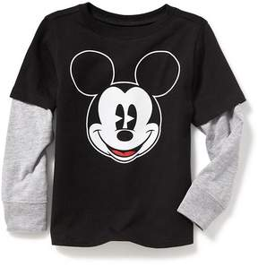 Old Navy Disney© Mickey Mouse 2-in-1 Graphic Tee for Toddler Boys