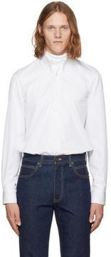 Calvin Klein White Multi Stripe Shirt