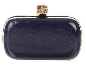 Alexander McQueen Skull Box Clutch