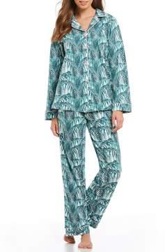 BedHead Maui-Printed Classic Knit Pajama Set