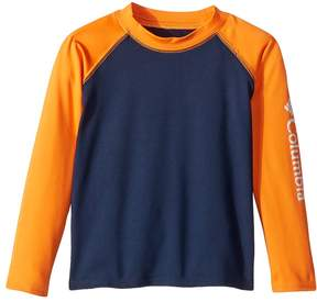 Columbia Kids Mini Breaker Long Sleeve Sunguard Boy's Long Sleeve Pullover