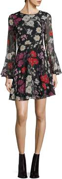 Donna Morgan Women's Dragonfruit A-Line Dress