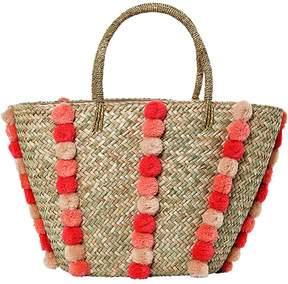 Seafolly Carried Away Pom Pom Beach Basket