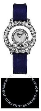 Chopard Happy Diamond Mother of Pearl Diamond Bezel 18k White Gold Ladies Watch