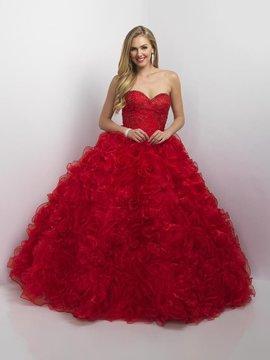 Blush Lingerie Q175 Ruffled Sweetheart Ballgown