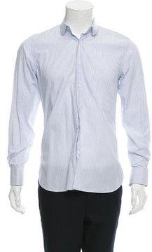 Caruso Striped Button-Up Shirt