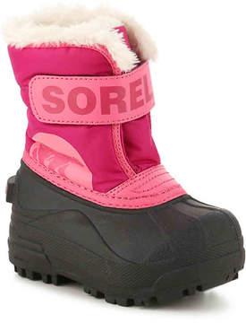 Sorel Girls Snow Commander Infant & Toddler Snow Boot