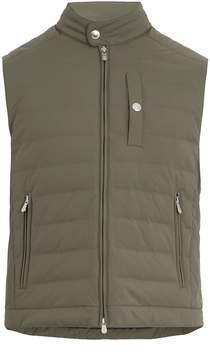 Brunello Cucinelli Quilted down-padded gilet
