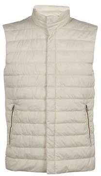 Herno Men's Pc0054u192881001 White Polyamide Vest.