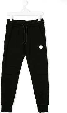 MSGM distressed track pants