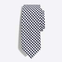 J.Crew Factory Gingham tie