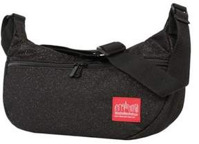Manhattan Portage Unisex Midnight Crescent Street Shoulder Bag.